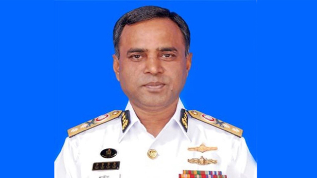 নৌবাহিনী প্রধান এডমিরাল এম শাহীন ইকবাল। ফাইল ছবি