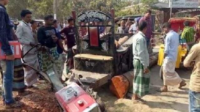 রাজশাহীতে ট্রলির চাপায় প্রাণ গেলো গৃহবধূর