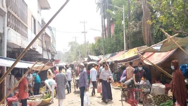 রাজশাহীতে উর্ধ্বমুখী মরিচের বাজার