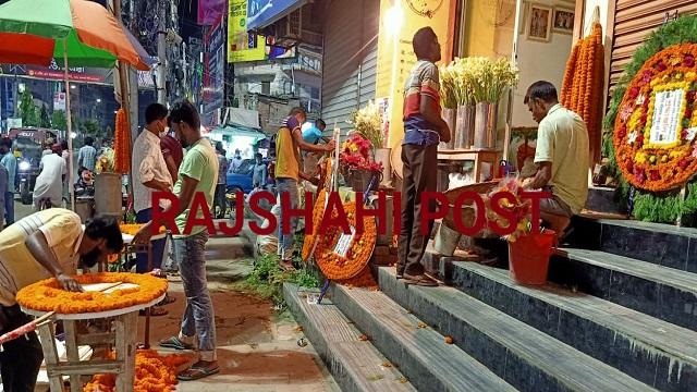 'সুযোগ হাতছাড়া' রাজশাহীর ফুল ব্যবসায়ীদের